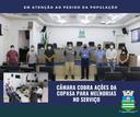 Câmara cobra ações da Copasa para melhoria no abastecimento