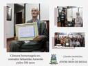 Câmara presta homenagem ao ex-vereador Sebastião Ferreira de Azevedo, o Tião Azevedo