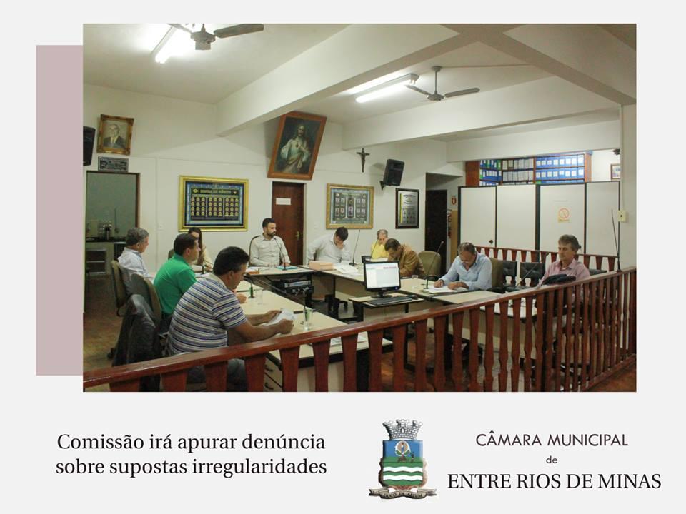 Comissão irá apurar irregularidade