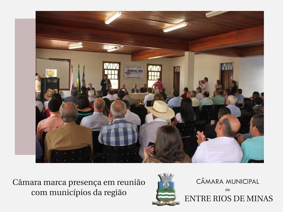 Integração regional: Câmara marca presença na reunião da Associação dos Municípios do Alto Paraopeba