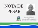 Nota de pesar - Hugo Bernardes de Moura