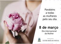 Nota - Dia Internacional da Mulher