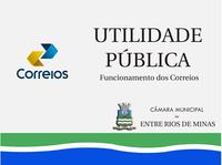 Utilidade pública: Funcionamento dos Correios
